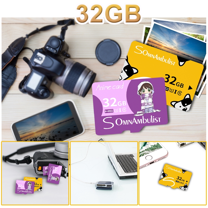 🚗For Smart Phone Tablet Device Camera TF Flash Memory Card Class 10 15MB /s