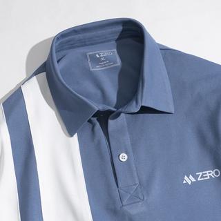 Hình ảnh Áo Thun Nam Polo Phối Kẻ Sọc Trẻ Trung Thời Trang ZERO-5
