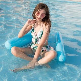 Giường bơm hơi nổi tiện dụng khi đi bơi ở hồ bơi/ bãi biển cho người lớn và trẻ em