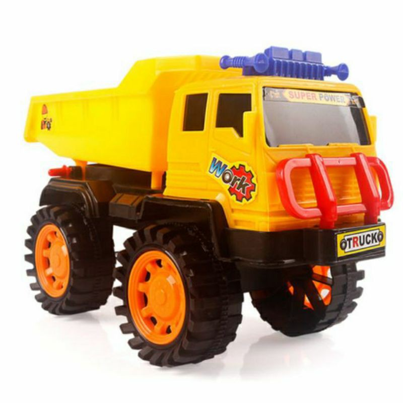 Xe Ben , xe chở cát cho bé , xe đồ chơi thế hệ mới độc đáo và đầy ấn tượng