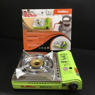 [Mã ELFLASH5 giảm 20K đơn 50K] Bếp gas mini đa năng 2 chiều Namilux PL1951PS dùng lon mini hoặc bình lớn