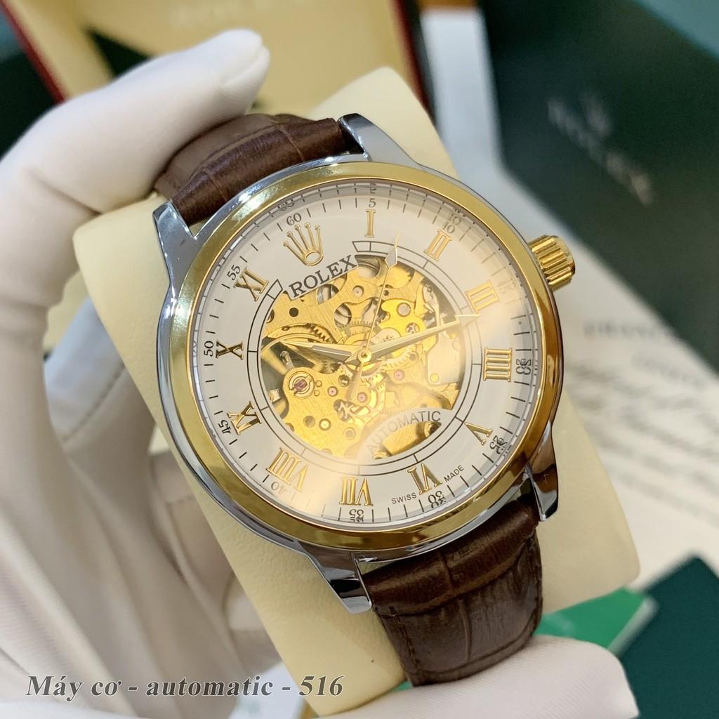 Đồng hồ nam Ro.lex -MÁY CƠ 42 mm hàng cao cấp Ro_collections - bảo hành 12th