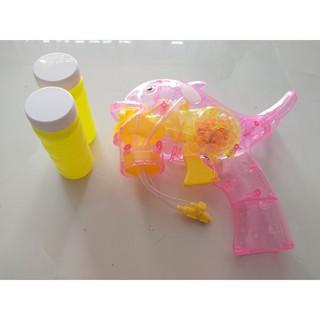 [ĐỒ CHƠI] [HÀNG ĐẸP GIÁ TỐT]đồ chơi cho bé – Súng bắn bong bóng (tặng kèm 2 lọ xà phòng)