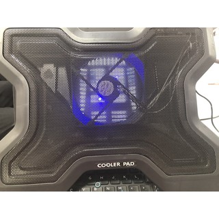 Đế Tản Nhiệt Laptop Cooling Pad 12inch ->15inch - 1 Fan - Nhôm Cứng Cáp- Giá Siêu Rẻ