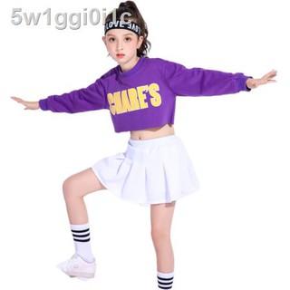 Trang phục trẻ em thi đấu cổ vũ hoạt náo viên jazz đường phố khiêu nhóm ngày học sinh tiểu thumbnail