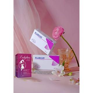Combo Viên Thạch PK Plurigin + Nước Hoa Cô Bé + Gel Ladydova + FlowerIsland Size Lớn DovaGroup