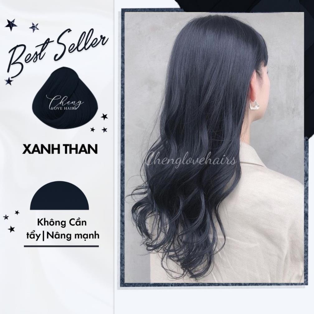 Thuốc nhuộm tóc XANH ĐEN / XANH THAN / XANH DƯƠNG ĐEN