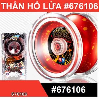 Đồ chơi con quay tuyệt đỉnh Yoyo Thần Hổ Lửa cao cấp màu đỏ đồ chơi con quay trẻ em thumbnail