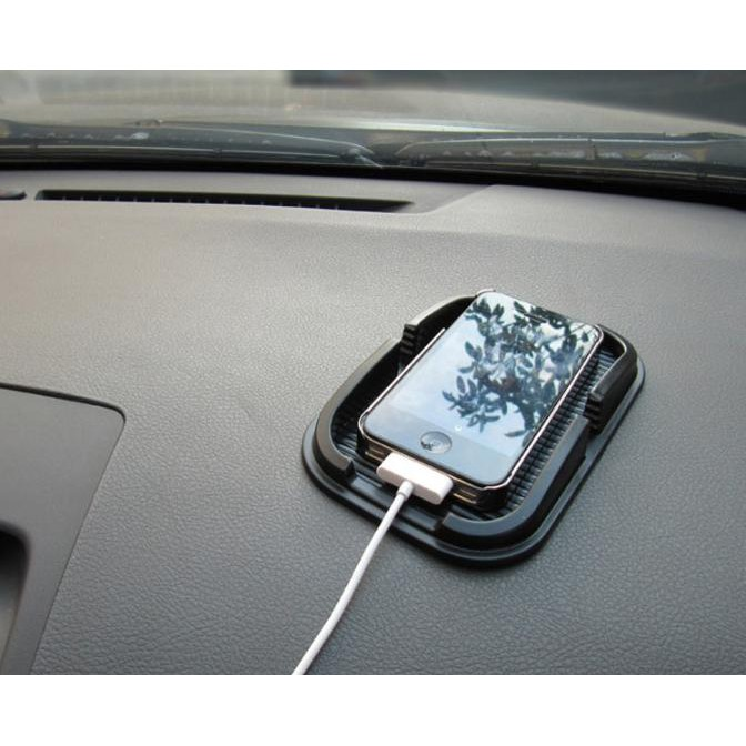 Giá đỡ điện thoại trên ô tô chống trượt - Home and Garden