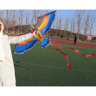 💗Sunei💗1Pc Parrot Kite Bird Outdoor Kites Flying Toys For Children Kids Gifts