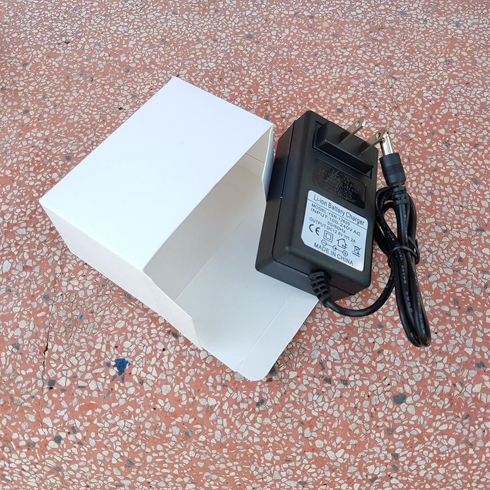 Sạc pin máy khoan 3s 12.6v - 2A Dùng Cho Pin Lion 18650