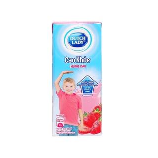 Sữa Tiệt Trùng Cô gái Hà Lan Cao Khoẻ Hương Dâu 170ML