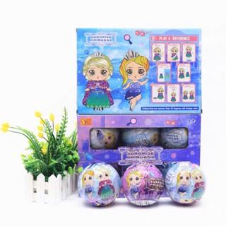 🌸🌸 Set 6 Quả Trứng LOL SUPRISE CÔNG CHÚA DISNEY 🌸🌸 – Hàng nhập khẩu