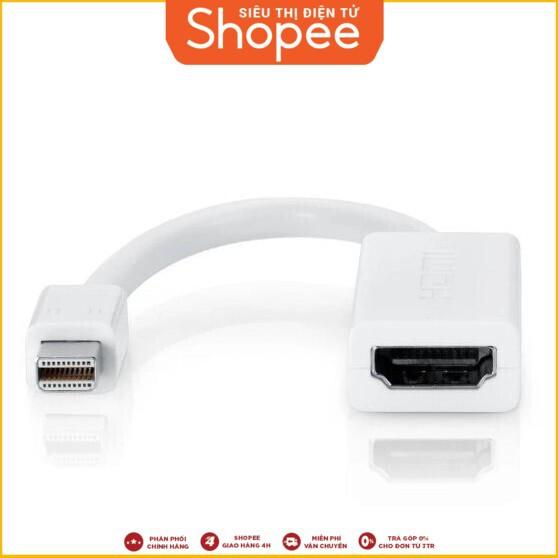 [Hàng Có Sẵn] Phụ kiện cáp Mini Display Port to HDMI Adapter Mini Giá chỉ 135.000₫