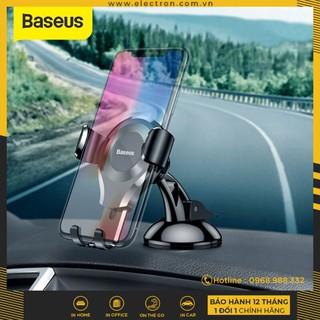 Bộ đế giữ điện thoại dùng trong xe hơi Baseus Osculum Type Gravity Car Mount thumbnail
