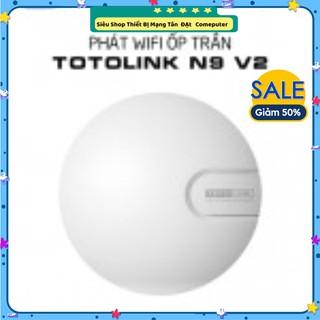 Thiết bị phát Wi-Fi ốp trần Totolink N9 V2 chuẩn N 300Mbps- Hàng Mới Năm 2021 - Bảo Hành 24 Tháng thumbnail