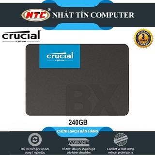 Ổ cứng SSD gắn trong Crucial BX500 3D NAND SATA III 2.5 inch 240GB R540MB s W500GB s thumbnail