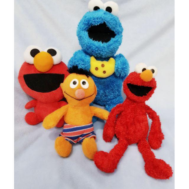 Gấu bông set 3 Elmo và bạn