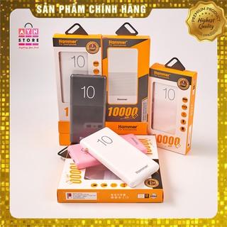 Pin Sạc Dự Phòng Chính hãng 10000mah + Cáp sạc dùng cho IPhone, Android thumbnail
