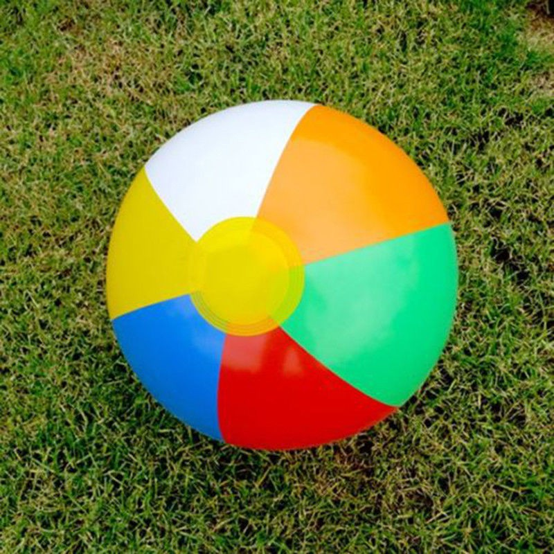 Inflatable Blowup Panel Beach Ball Holiday Party Swimming Garden Toy
