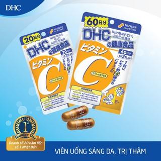 Hình ảnh Viên uống DHC Bổ sung Vitamin C Nhật Bản 40v/gói và 120v/gói-1