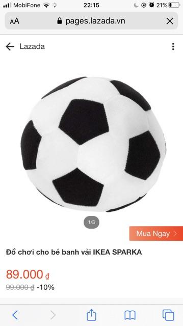 Thanh lý set 2 banh vải IKEA SPARKA cho bé