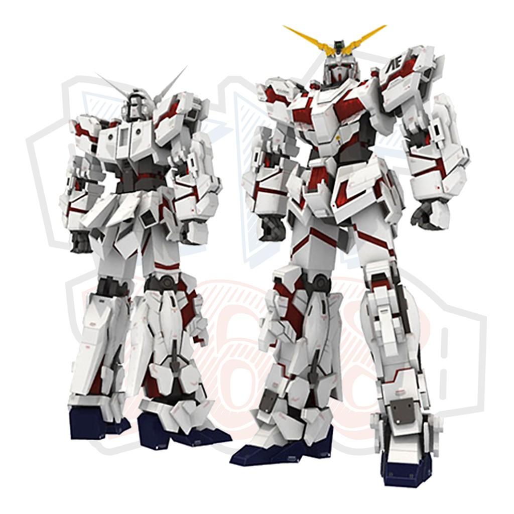 Mô hình giấy RX-0 Unicorn Gundam