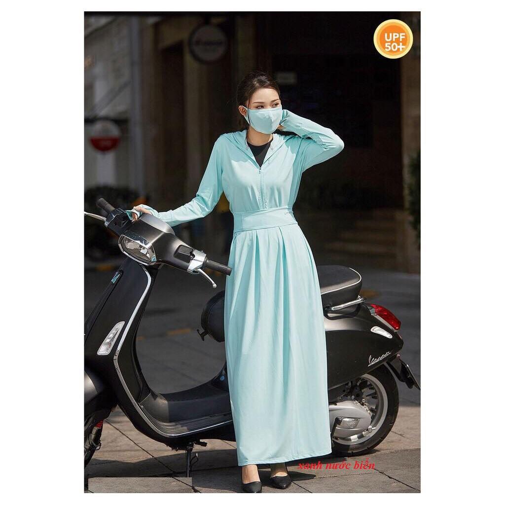 [Mã WAPAID hoàn 15% xu đơn 99k] Quây váy chống nắng thông hơi ( không kèm áo)
