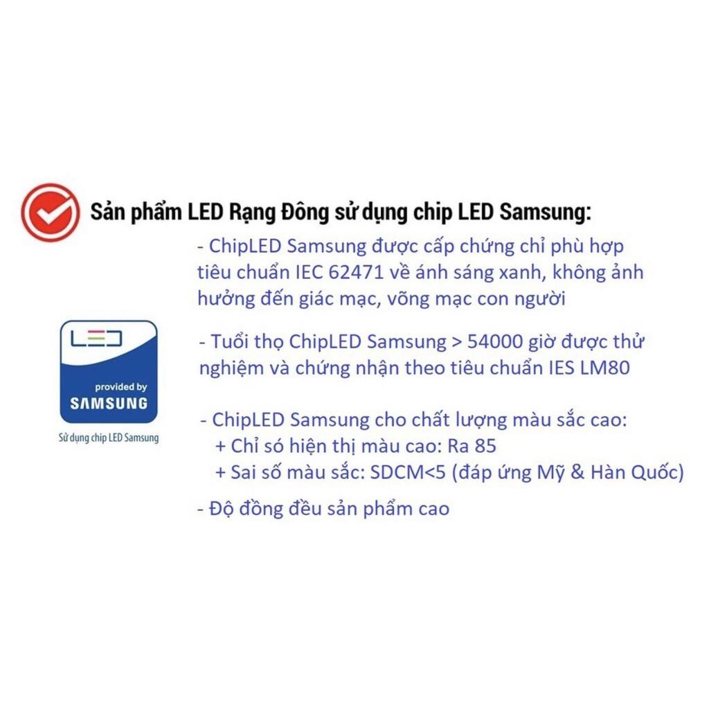 Đèn Bàn Cảm Ứng LED Rạng Đông 6W - RD-RL-36.LED - 4 Nhiệt Độ Màu, 3 Mức Sáng