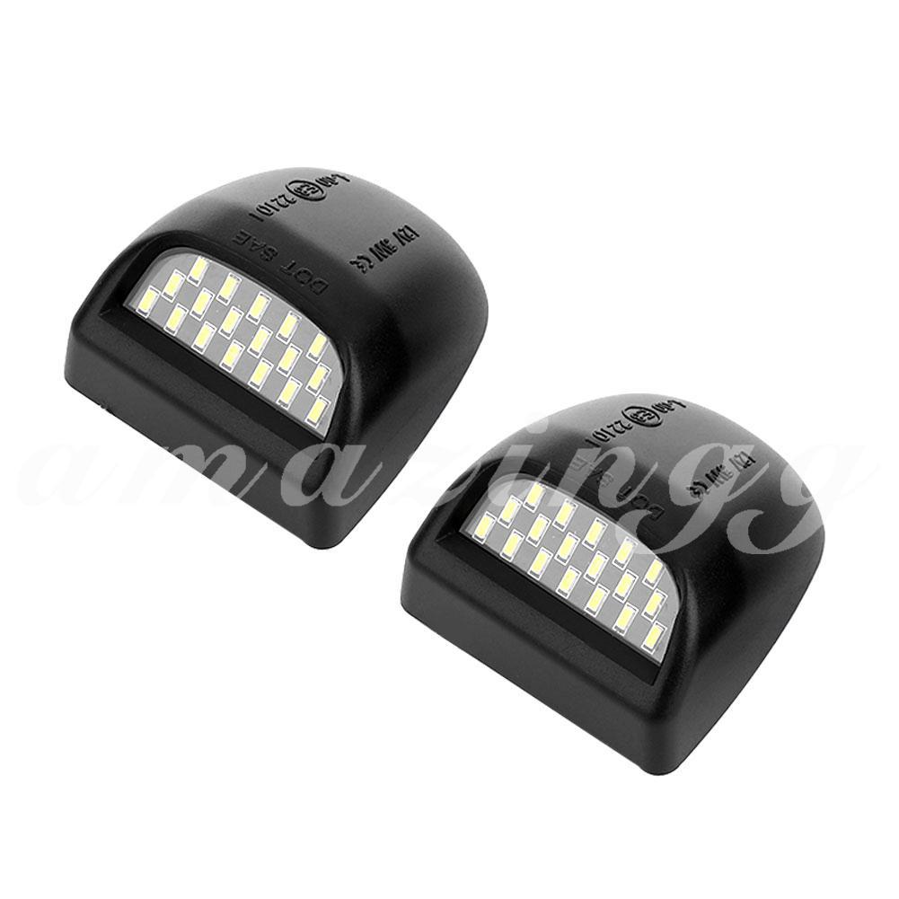 Bộ đèn LED cho biển số xe ô tô