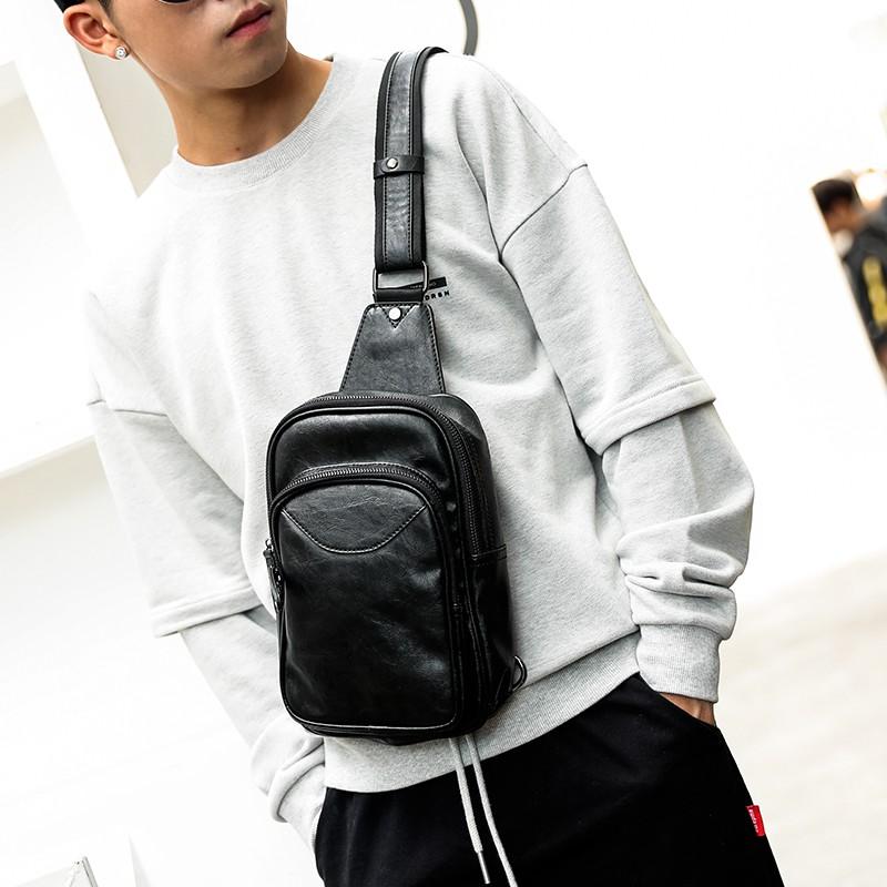 Túi đeo vai thời trang phong cách năng động cho nam