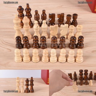 OM 32pcs/set wooden chess King high 64cm total weight 140g entertainment games KS