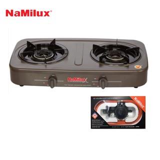 Combo Bếp gas đôi Namilux NA-590FM + Van điều áp ngắt gas tự động Namilux NA-345S-VN