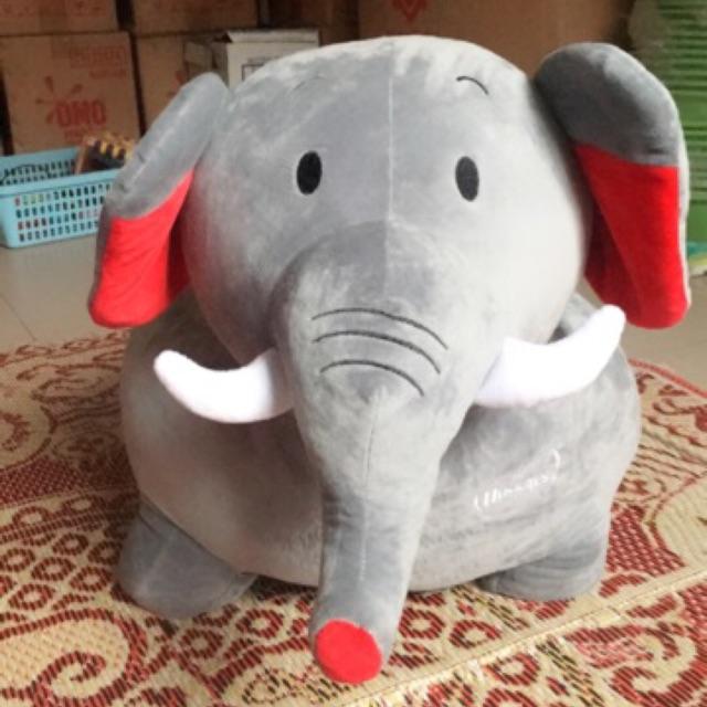 Thú nhồi bông hình voi xám của Huggies