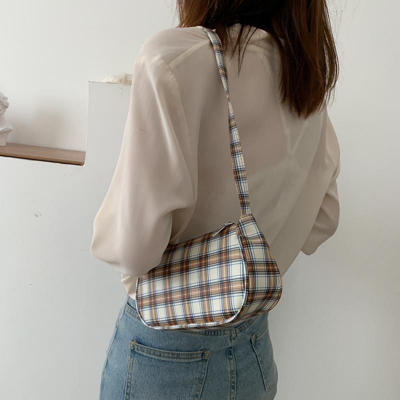 Túi đeo vai GaLiCiCi nhỏ nhắn phối quai xích thời trang cho nữ