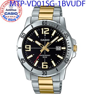 Đồng hồ nam Casio MTP-VD01 MTP VD01D MTP VD01G MTP VD01SG bảo hành 1 năm chính hãng Anh Khuê dây thép chống nước 50m thumbnail