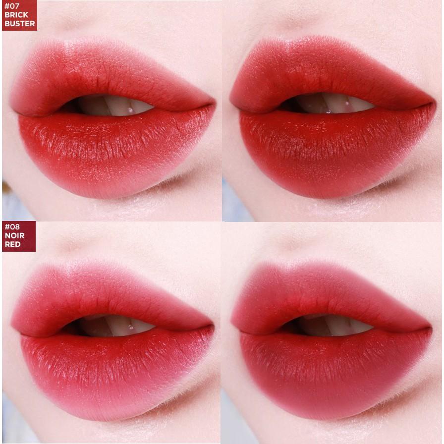 Kết quả hình ảnh cho Son Thỏi Lì Lilybyred Mood Cinema Matte Ending Lipsticks 08