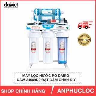 máy lọc nước Daiko đặt gầm DAW-34009D2 loại có chân đỡ