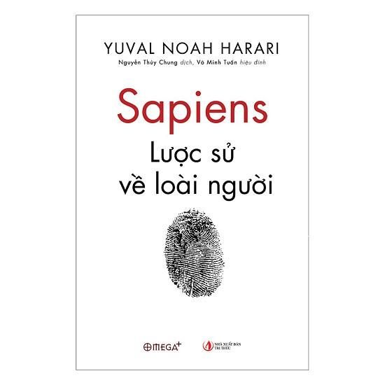 Sách - Sapiens: Lược Sử Loài Người - Omega Plus