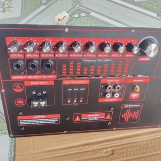 Board Mạch Loa Kéo Reverd Nguồn Xuyến 1 Kênh 5 Tấc , 4 Tấc Đôi 19×38 (21×38) Có ĂngTen Bluetooth