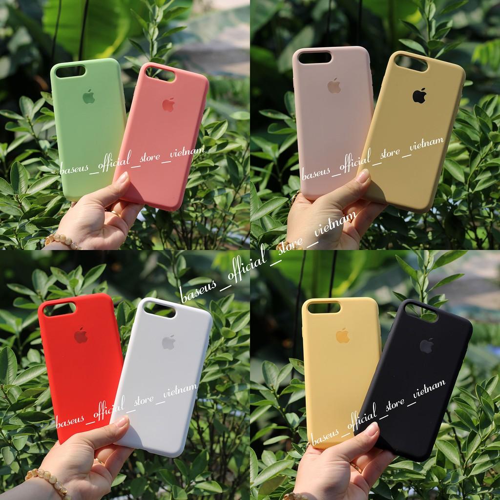 Ốp chống bẩn -Chống dơ dành cho Iphone- Hàng loại 1 (6 đến Xs max- Sẵn 20 màu)