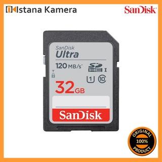 Thẻ Nhớ Sandisk 32GB Ultra UHS-I SDHC Cho Máy Ghi Âm / Máy Ảnh / Ghi Âm