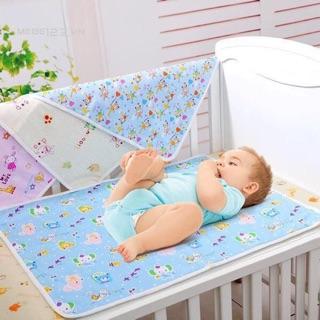 Chiếu lót thay bỉm chống thấm cho bé sơ sinh, 65x50cm – L3