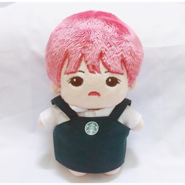 Yếm Starbuck Outfit for doll 20cm BTS