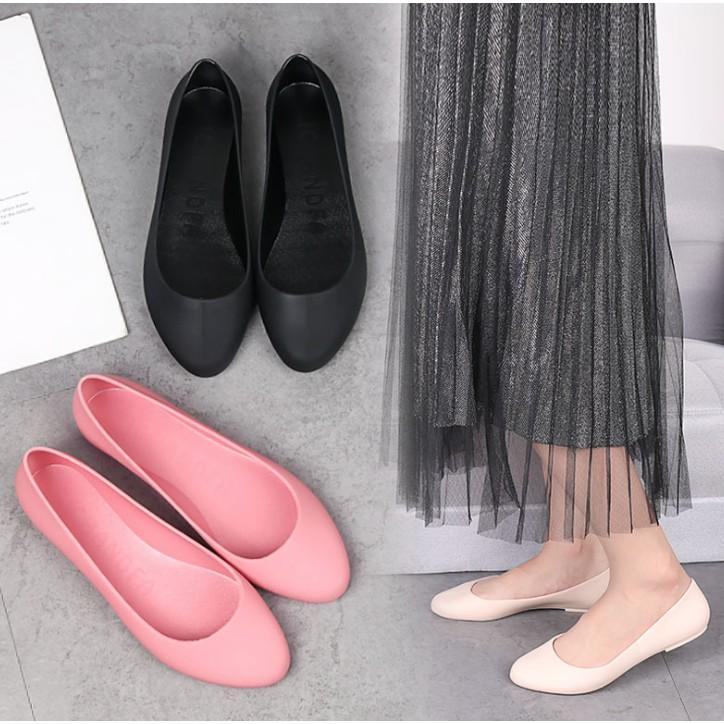 Giày đế xuồng nữ nhiều màu tuỳ chọn