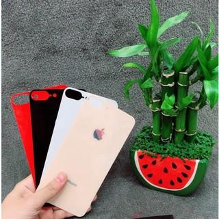 [ Rẻ Vô Địch ] Cường Lực Mặt Lưng Giả iPhone 8 Giống 99% Cho Các Đời iPhone Tặng Ốp Silicon Trong Chống Sốc