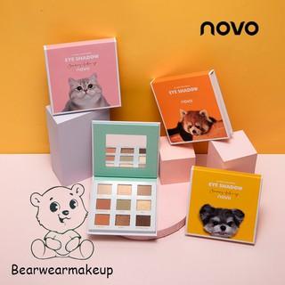 Bảng Phấn Mắt Novo 9 ô Hình Thú Cưng thumbnail