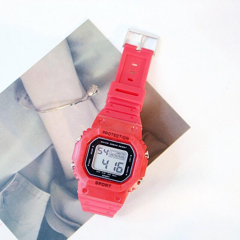 Đồng hồ điện tử nam nữ Sport cực hot QA568