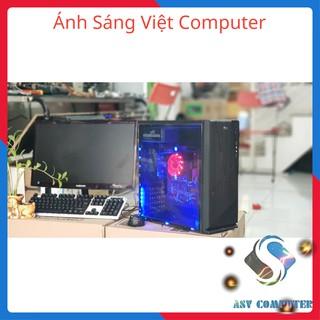 (HOT SALE) Máy vi tính chơi game lol max setting, A8 7600k, Ram 8G, Vga 4G, kèm màn hình 22inch