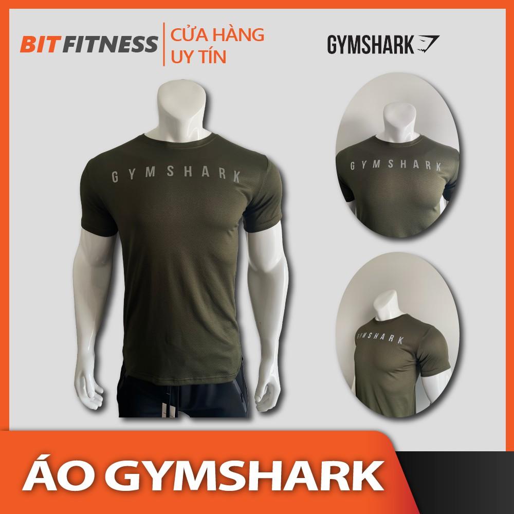 Áo thun cao cấp GymShark- Áo thun tập gym vải da rắn siêu chất - BiT Fitness chuyên đồ tập